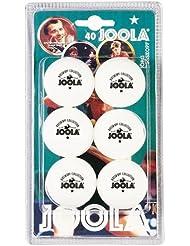 Joola Tt Ball - Pelota de ping pong, color blanco