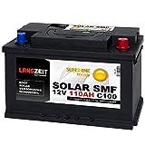 Langzeit Solar SMF Solarbatterie 110Ah 12V Versorgungsbatterie Wohnmobil Batterie Boot total wartungsfrei 100Ah 90Ah 80Ah