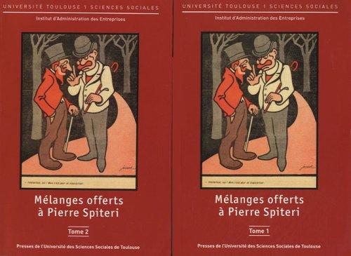 Mélanges offerts à Pierre Spiteri : 2 volumes par Michel Albouy