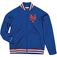 "New York Mets Mitchell & Ness MLB Men's ""Top Prospect"" Full Zip Track Jacket"