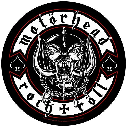 Motörhead Biker Backpatch Mehrfarbig