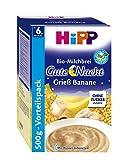 Hipp Gute-Nacht-Brei Grieß Banane 500g, 3er Pack (3 x 500g)