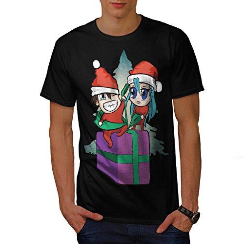 Go Kostüme Spaß Familien (Elf Geschenk Liebe Weihnachten Festlich Spaß Men S T-shirt |)