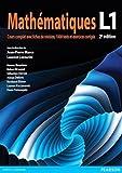 Mathématiques L1 : Cours complet avec fiches de révision, 1000 tests et exercices corrigés