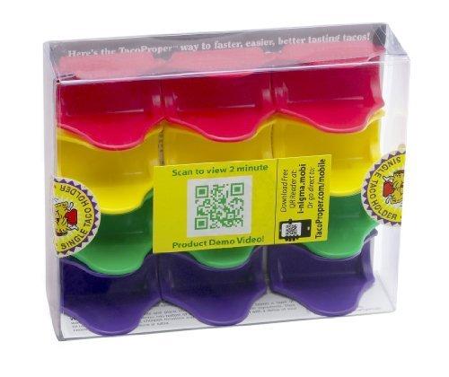 TacoProper Support à tacos FiestaPak Lot de 12 Harold Import Company, Inc.