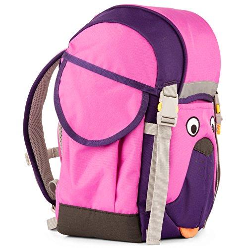 Affenzahn Schulrucksack Kinderrucksack Kitarucksack mit Brustgurt für 3-5 jährige Jungen und Mädchen im Kindergarten Walki Winnie Wuff - Lila (4-jährigen Geschenke Jungen Besten Am)