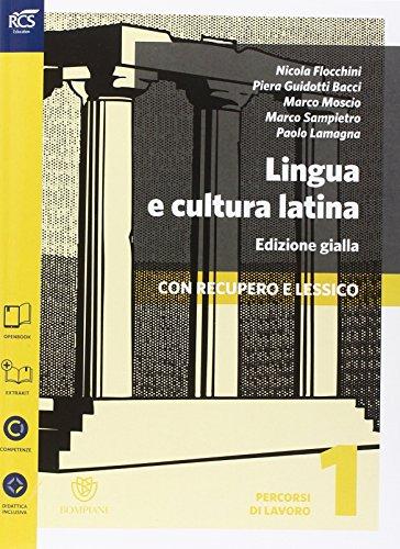 Lingua e cultura latina e lessico. Percorsi-Repertorio lessicale. Ediz. gialla. Per le Scuole superiori. Con espansione online: 1