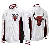 Mitchell & Ness Chicago Bulls 1992-1993 Authentic Warm Up Jacke Weiß L
