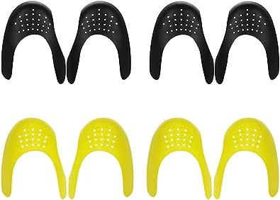 Anyeat Scudo per Scarpe, 4 Paia Accogliente Traspirante Scarpe Antirughe, Antiscivolo Anti Rughe Protezioni Contro le Pieghe Delle Scarpe