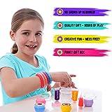 GirlZone: Lippenbalsam Set Selber Machen - Kinderschminke Set - 22 Teile - Labor der Lippenstifte & Kinderkosmetik Make-up-set - Geschenk für Mädchen 6-10 Jahre alt- Kreatives für Mädchen Vergleich