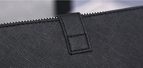 Sacchetto della chiusura lampo, sacchetto del messaggero della spalla, borse, sacco ad aria selvatica estiva, pacchetto di marea casuale coreano ( Colore : Nero ) Grigio