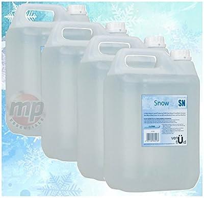 MP Essentials Venü SN Artificial Fake Snowflake Snow & Foam Fluid - 4 x 5L Bottles