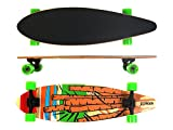 MAXOfit Longboard Cartoon No.05, 84cm, Arce, Top Mount