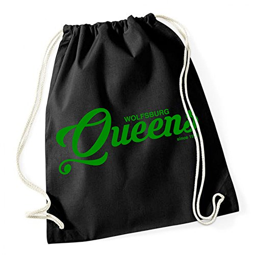Wolfsburg Queens Sac De Gym Noir Certified Freak