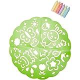 Alex Toys Active Play Garden Sidewalk Mandala with Jumbo Chalks, Multi Color