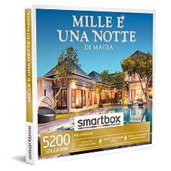 Idea Regalo - SMARTBOX - Cofanetto regalo coppia- idee regalo originale - 2 o 3 giorni magici in luoghi favolosi