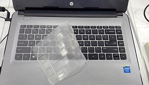Saco Ultra Thin TPU Keyboard Protector Cover Skin Fit for HP Pavilion 13-S102TU x360 Notebook 13.3 inch