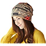 Nimble House ® ™Unisex Soft Warm Cap Slouchy Beanie Multifunctional Use Chemo Hats and Scarves