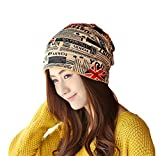 #10: Nimble House ® ™Unisex Soft Warm Cap Slouchy Beanie Multifunctional Use Chemo Hats and Scarves