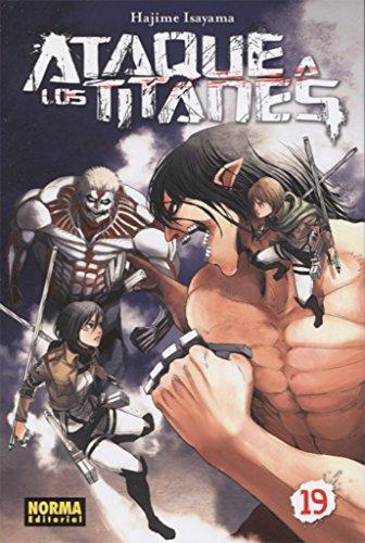 Ataque a los Titanes 19 por Hajime Isayama
