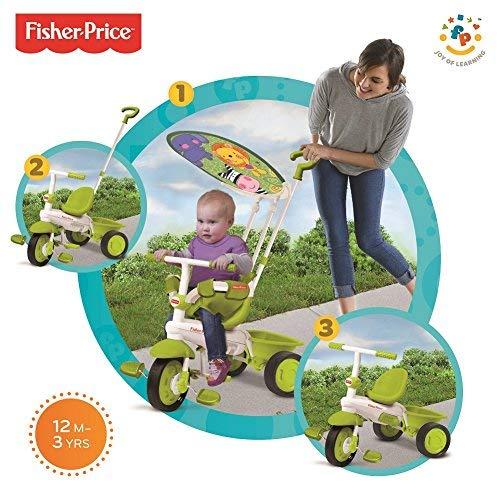 Fisher Price FP1461133 - Triciclo Classic Plus, Verde