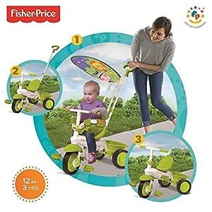 Nueva Verde clásico, más Inteligente Trike Tacto de dirección 3-en-1 de la Bici del niño del Triciclo