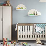 Tutti Bambini Modena Nursery Cot Bed - with an Additional Foam Mattress, Converts into a Junior and Sofa Bed