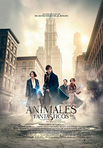 Animales Fantásticos Y Donde Encontrarlos + Postales de los personajes [DVD]