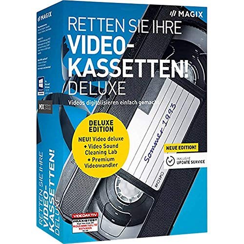 MAGIX Retten Sie Ihre Videokassetten Deluxe
