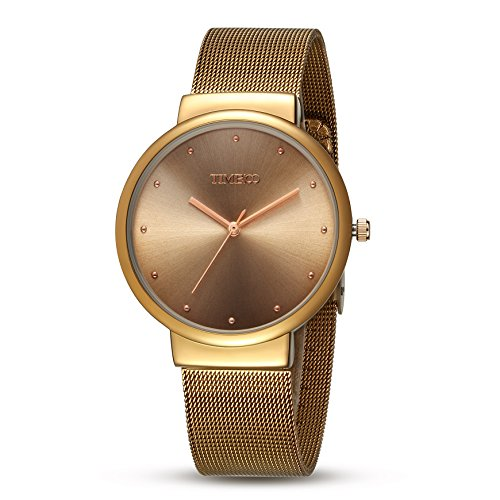 a8bb4d12f751 Time100 Reloj pulsera de moda con calendario para hombre