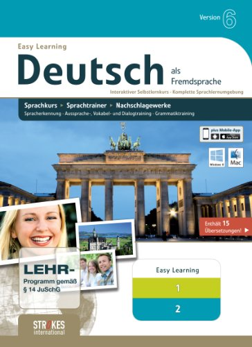 Strokes Easy Learning Deutsch 1+2 Version 6.0
