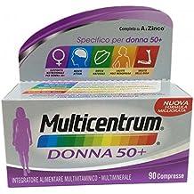Las mujeres mayores de 50 años MULTICENTRUM Complemento Alimenticio 90 Tabletas