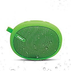 Envent Livefree 325 Wireless Portable Bluetooth Speakers, Water resistant, TF Card, Highly Portable Scratchless Body, Great Outdoor Wireless Speakers - Green