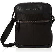 Tommy Hilfiger - Playful Novelty Reporter, Shoppers y bolsos de hombro Hombre, Negro (