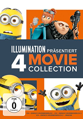 Minions 4 Movie Collection [4 DVDs]