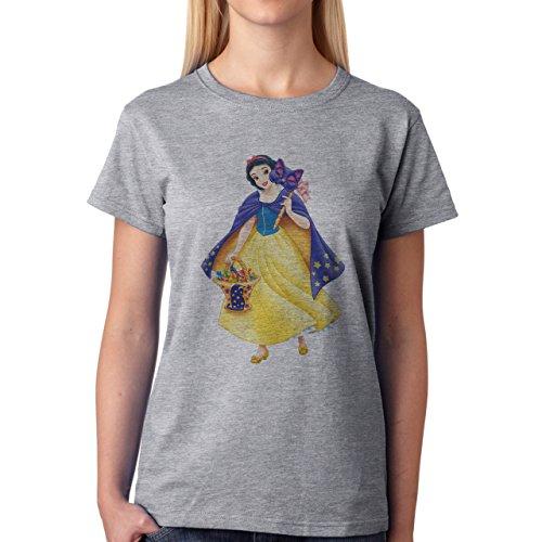 Snow White The One Damen T-Shirt Grau