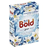 Bold 2-in-1 Washing Powder with a Touch of Lenor Long Lasting Freshness, 40 Washes, 2.6 kg, Lotus Flower and Water Lily