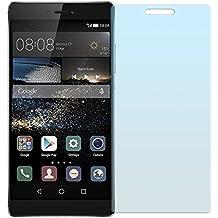 Cristal Templado Protector de Pantalla Para Huawei P8 - NEVEQ® Vidrio Templado, el Huawei P8 (5.2) Pulgadas de Pantalla con Garantía de por Vida, piel Protectora de la Cubierta de 9H de Dureza.