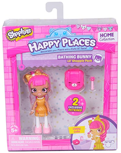 Shopkins Happy Places Doll Single Pack Lippy Lulu