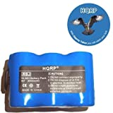 HQRP-3000mAh-Extra-High-Capacity-Battery-for-Euro-Pro-Shark-V1940C-Cordless-Sweeper-Battery-pack-XB1916-Replacement-plus-HQRP-Coaster