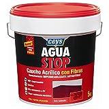 Ceys m122188Reifendichtmittel Aquastop Kautschuk aus Acryl mit Fasern 5kg grau