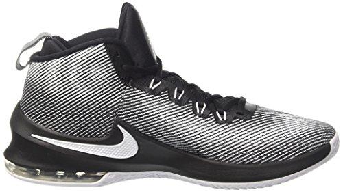 Nike Air Max Infuriate Mid, Echarpe Da Panier Uomo Multicolore (noir / Noir / Blanc)