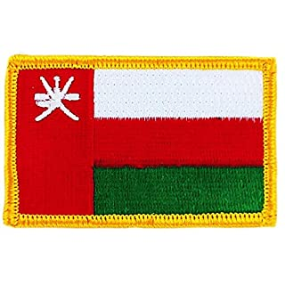 oman flag Embroidered Patch Badge on Sultanate flag backpack