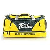 Fairtex Heavy Duty Gym Bag - Yellow