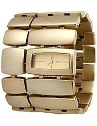 Dkny NY4380 - Reloj con correa de acero para mujer, color dorado / gris