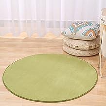 Teppiche CAMAL Runde Waschbare Koralle Samt Dekorative Teppich Wohnzimmer Schlafzimmer Und Bad 200cm