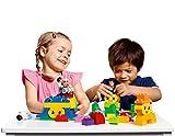 LEGO DUPLO Build Me 'Emotions' 5018 - 188 Elemente für 1 - 8 Spieler von 3 - 6 Jahren! Das Set enthält 8 Karten mit 16 Vorlagen