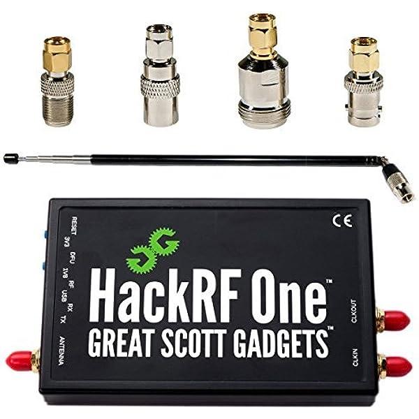 Radio Definida por Software (SDR) HackRF One, ANT500 Antena ...