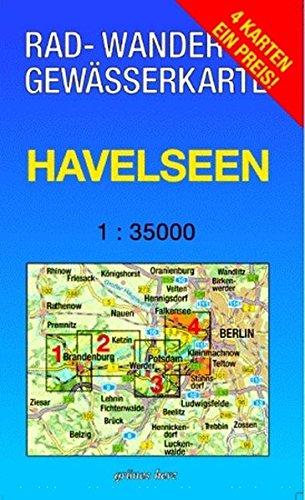 """Rad-, Wander- und Gewässerkarten-Set: Havelseen: Mit den Karten: """"Havelseen 1: Brandenburg/Havel"""", """"Havelseen 2: Beetzsee - Ketzin"""", """"Havelseen 3: ... Berlin/Brandenburg / Maßstab 1:35.000)"""