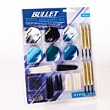 Bullet Professionelles Darts Accessory Kit - 6 Steeldarts 23g